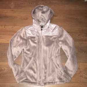North Face Furry Zip Up